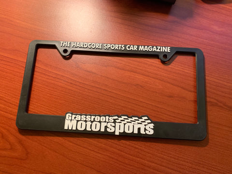 GRM License Plate Frame