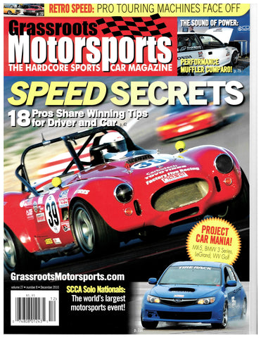 December 2010 - Speed Secrets