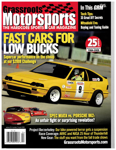 April 2009 - Fast Cars for Low Bucks