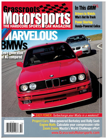 October 2008 - Marvelous BMWs