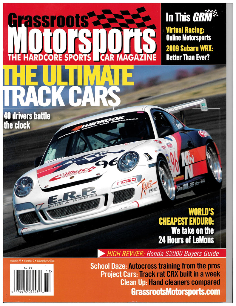 November 2008 - The Ultimate Track Cars
