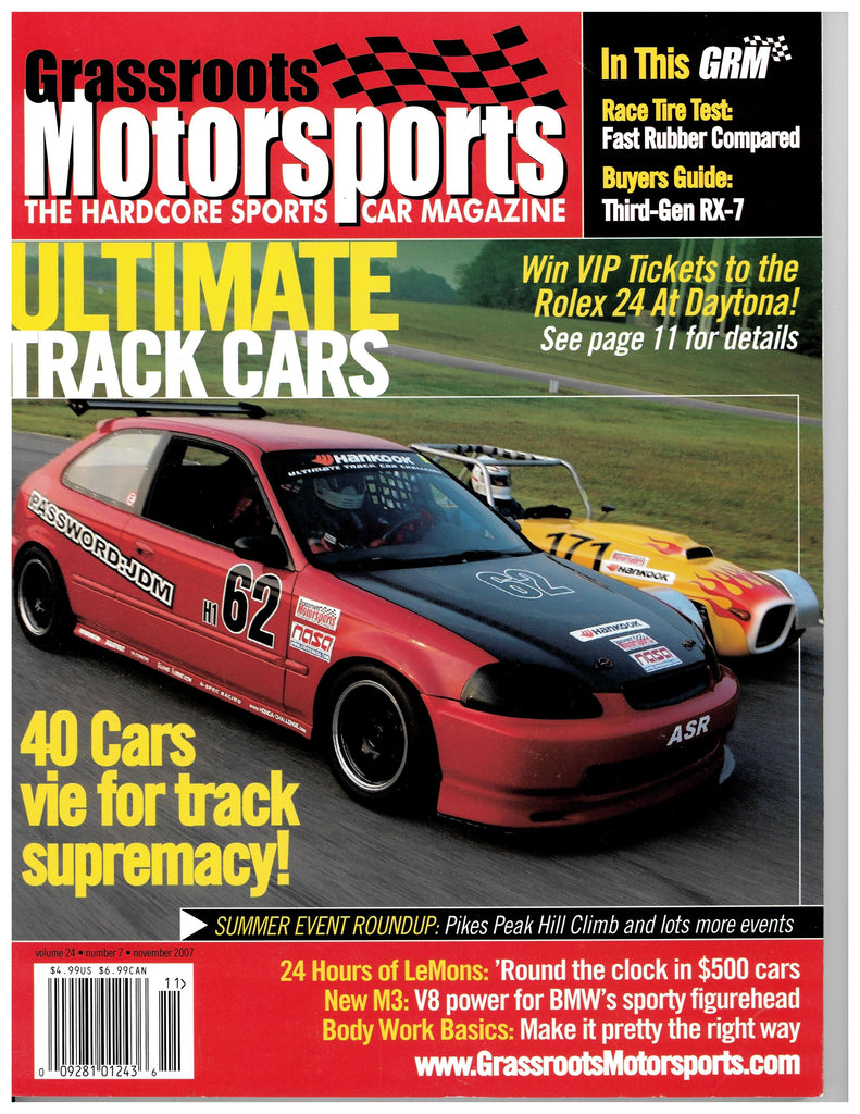 November 2007 - Ultimate Track Cars