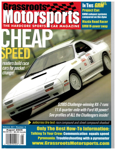 August 2005 - Cheap Speed