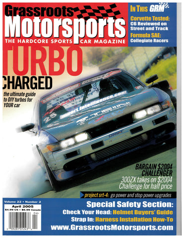 April 2005 - Turbo Charged