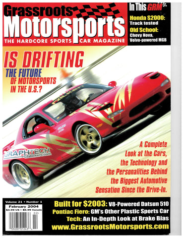 February 2004 - Is Drifting the Future of Motorsports in the U.S.?