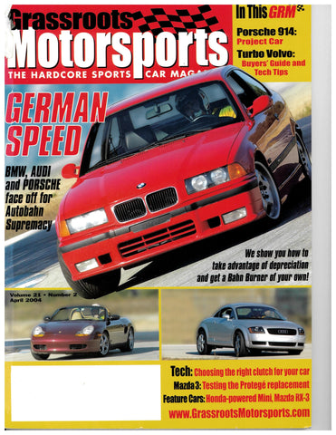 April 2004 - German Speed