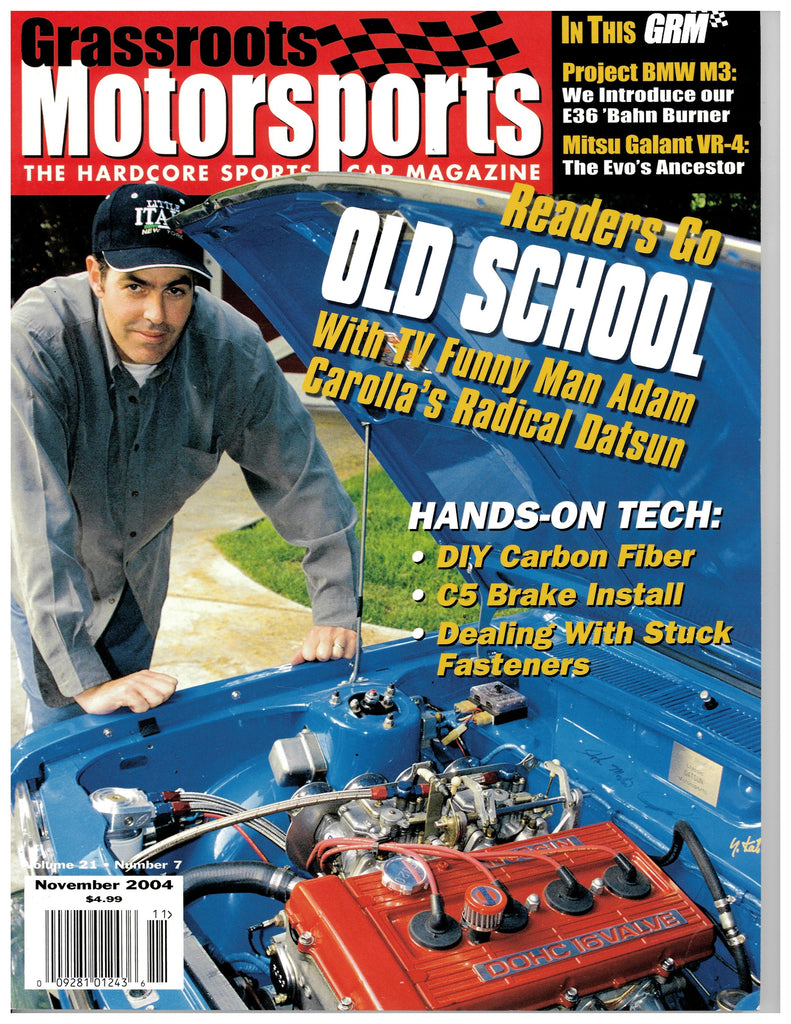 November 2004 - Readers Go Old School