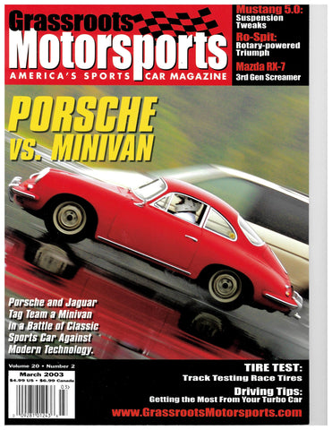 March 2003 - Porsche vs. Minivan