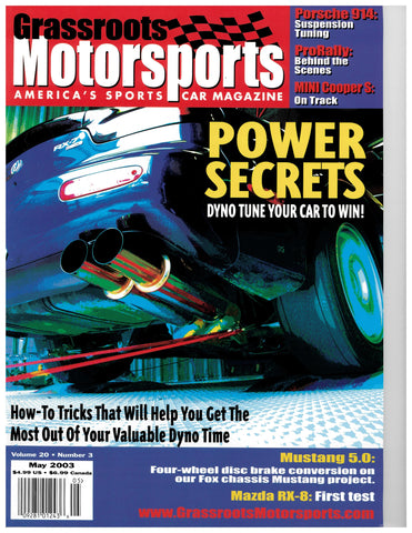 May 2003 - Power Secrets
