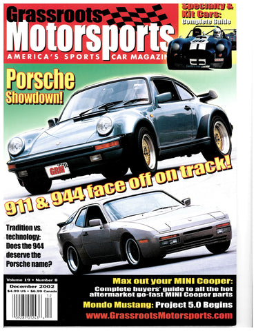 December 2002 - Porsche Showdown