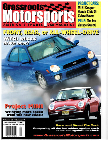 November 2002 - Front, Rear, or All-Wheel-Drive