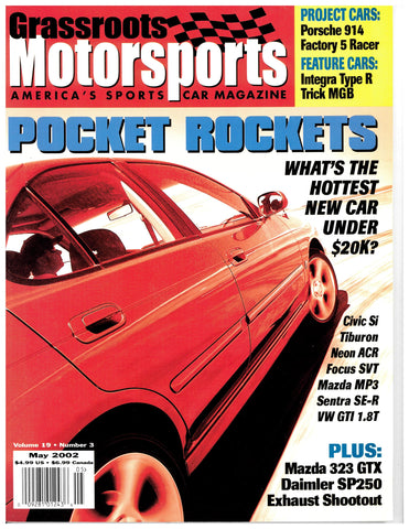 May 2002 - Pocket Rockets
