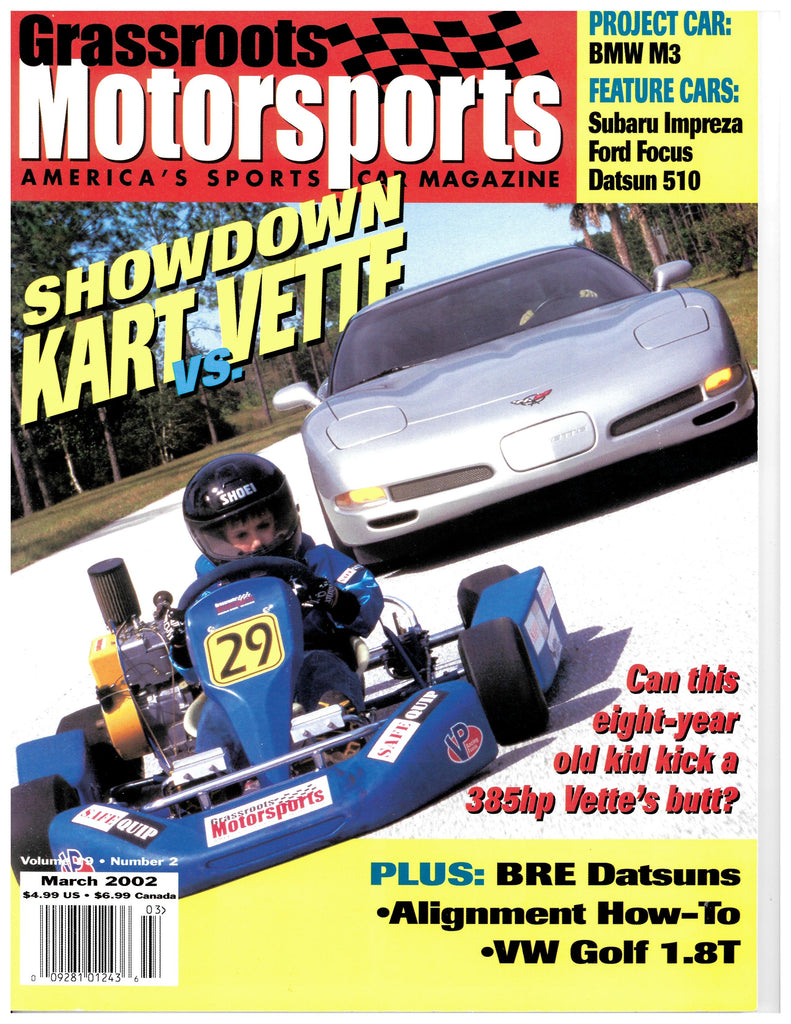 March 2002 - Showdown Kart vs. Vette