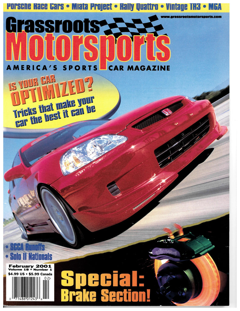 February 2001 - Is Your Car Optimzied?