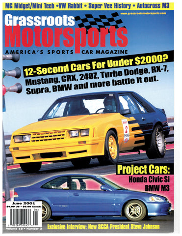 June 2001 - 12-Second Cars For Under $2000?