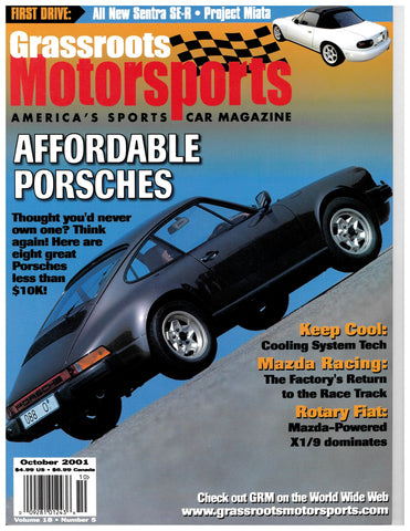 October 2001 - Affordable Porsches