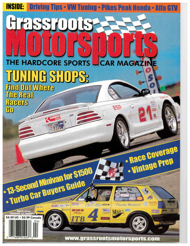 April 2000 - Tuning Shops: Find Out Where The Real Racers Go