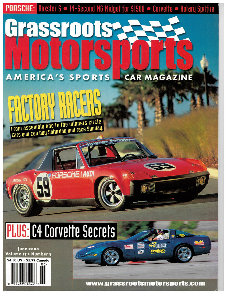 June 2000 - Factory Racers