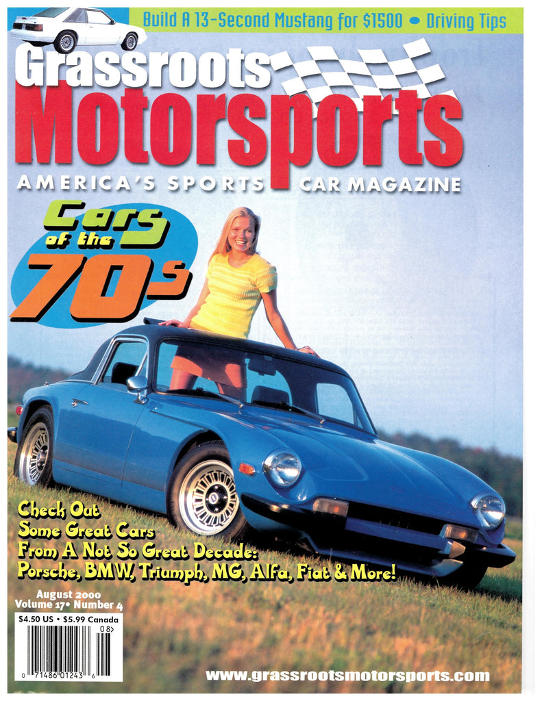 August 2000 - Cars of the 70s