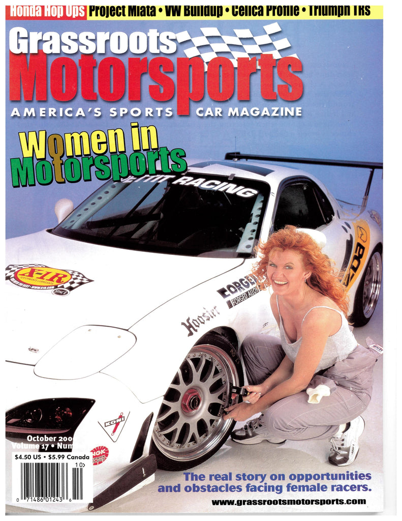 October 2000 - Women in Motorsports