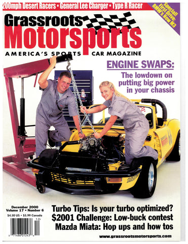December 2000 - Engine Swaps