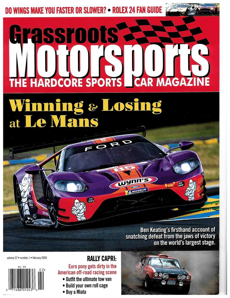 February 2020 - Winning & Losing at LeMans