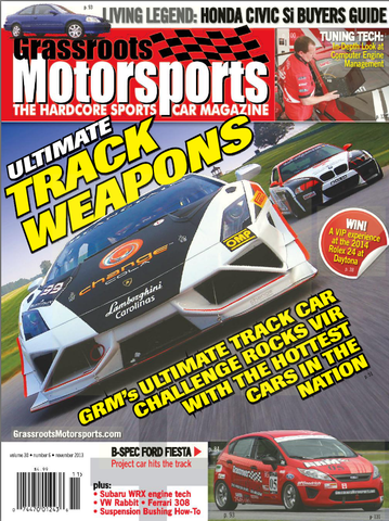 November 2013 - Ultimate Track Weapons