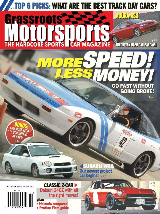 April 2013- More Speed! Less Money!