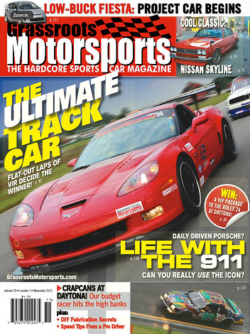 November 2012- The Ultimate Track Car