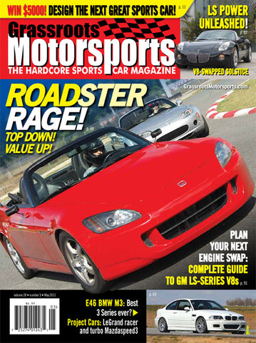 May 2011- Roadster Rage!