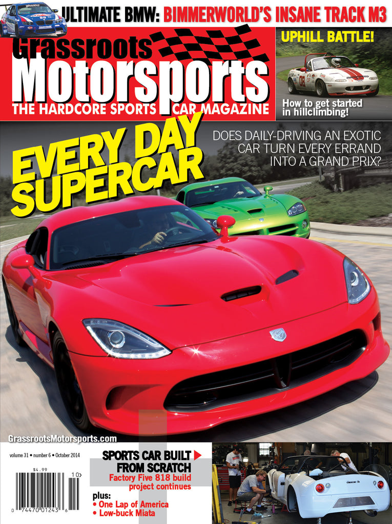 October 2014- Every Day Supercar