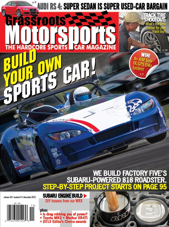 December 2013- Build Your Own Sports Car!