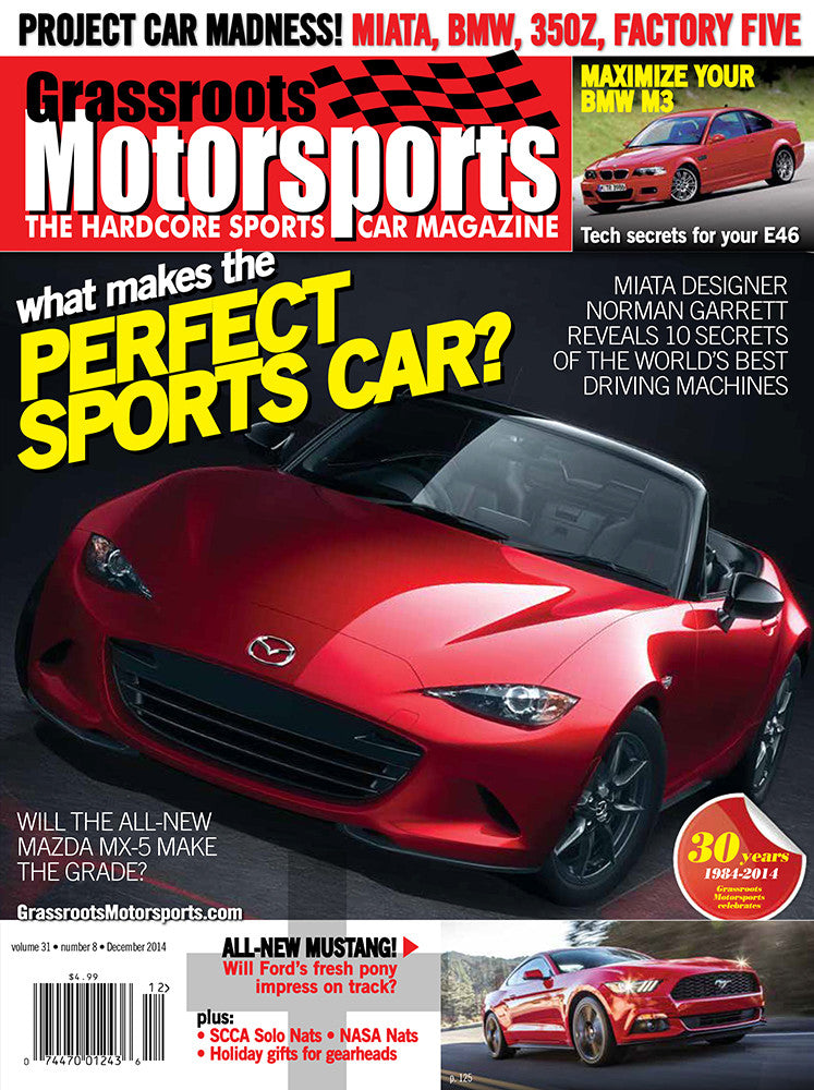 December 2014- What Makes the Perfect Sports Car?