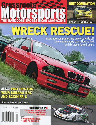 May 2015- Wreck Rescue!