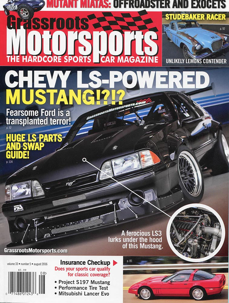 August 2016- Chevy LS-Powered Mustang!?!?