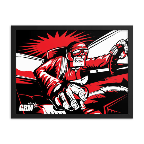 Angry Shifter Guy Framed Poster