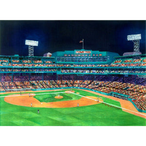 View from the Green Monster Framed Print