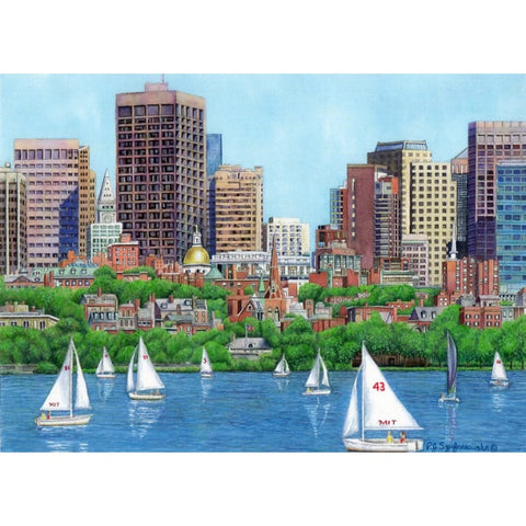 Boston Statehouse Framed Print