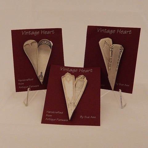 Vintage Heart Pins