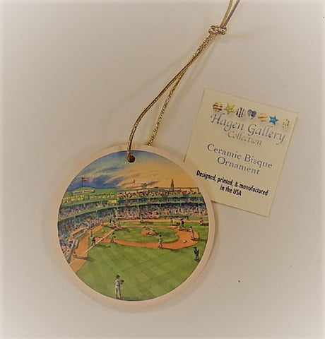Boston Ceramic Bisque Ornaments