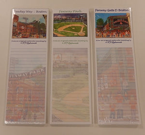 Fenway Park Magnetic Notepad Set