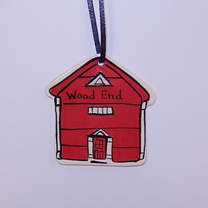 Schoolhouse Ornaments