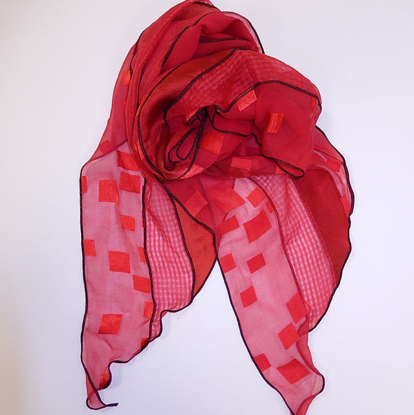 Collage Silk Scarf