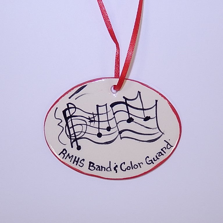 Reading Marching Band & Color Guard Ornament