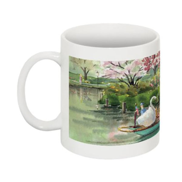 Boston Swan Boat Mug