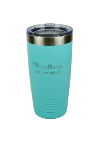 'She Persisted' Insulated Travel Mug
