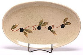 Handpainted Oval Platter