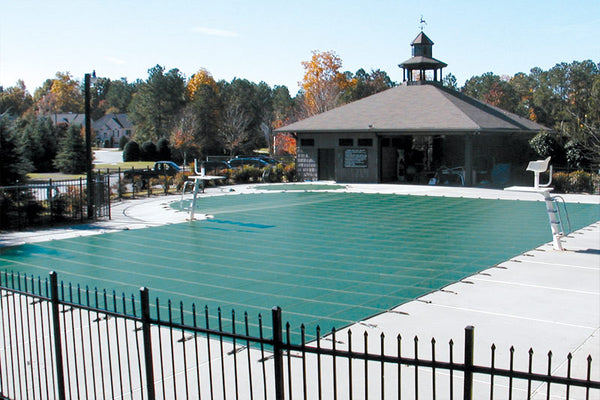 Winterized & Closed Commercial Pool