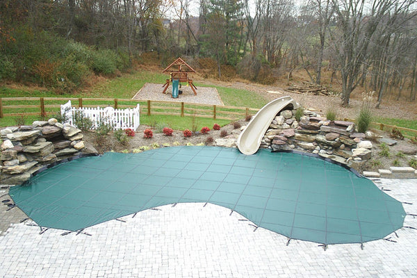 Winterized & Closed Residential Pool
