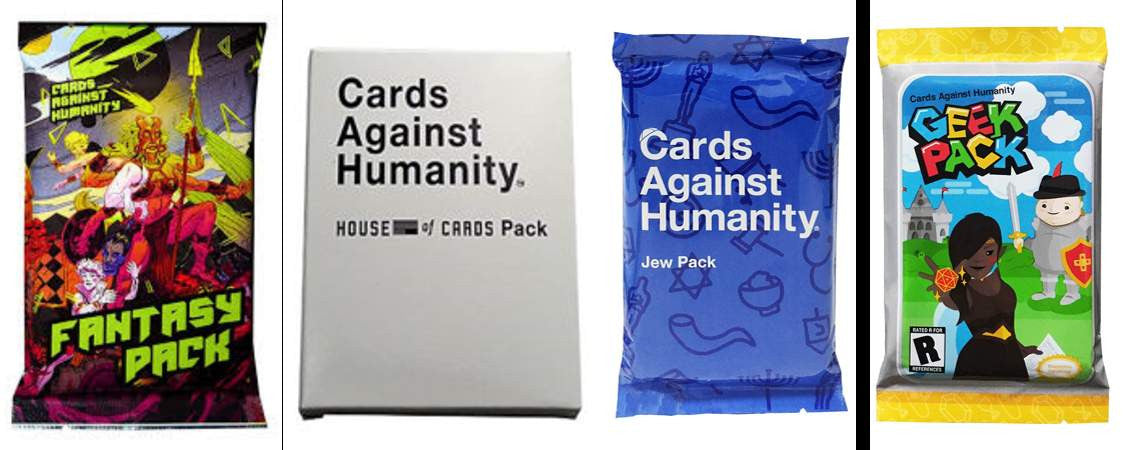 Cards Against Humanity Mini Expansion Packs The Gift And Gadget